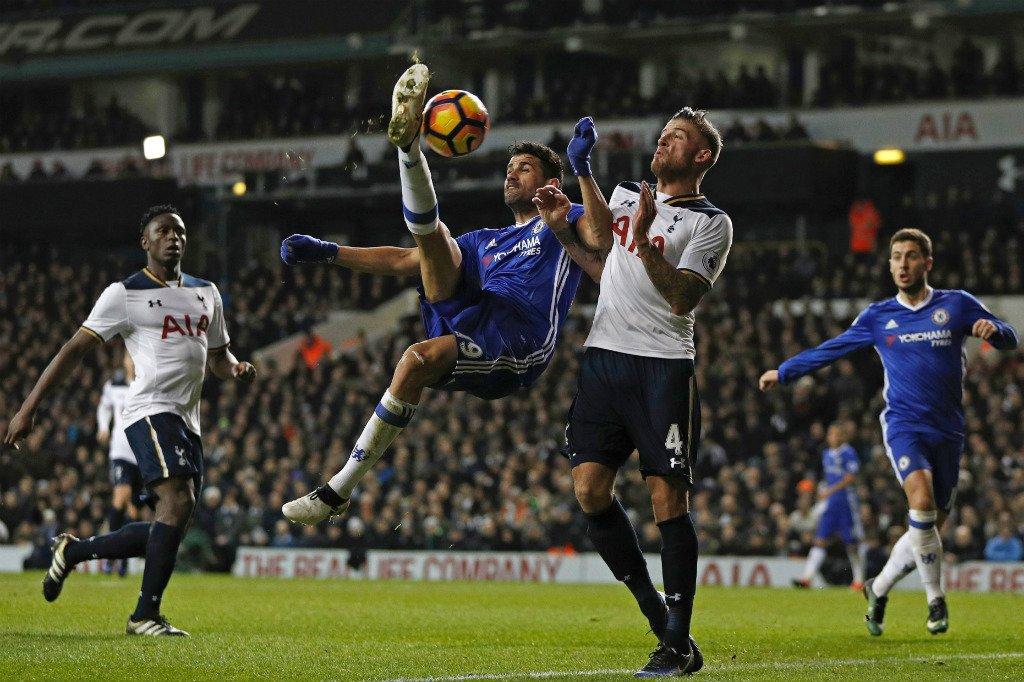 Dele Alli nets a brace as Spurs end Chelsea's winning streak