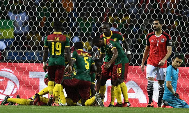 AFCON 2017: Cameroon beat Egypt to capture fifth AFCON title