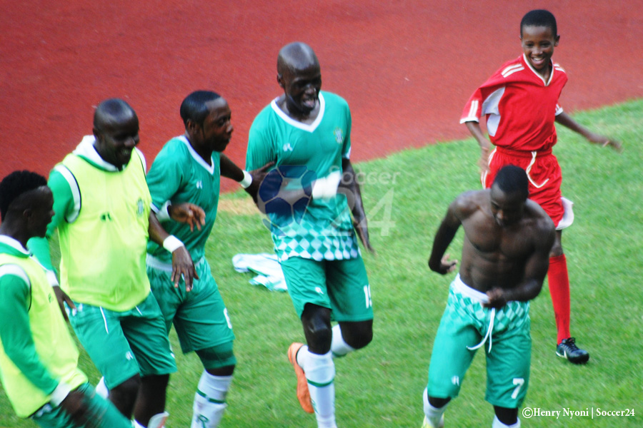 TP Mazembe v CAPS United action as it happend