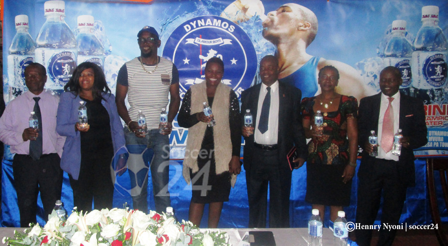 Dynamos Launch 'Champions Mineral Water'