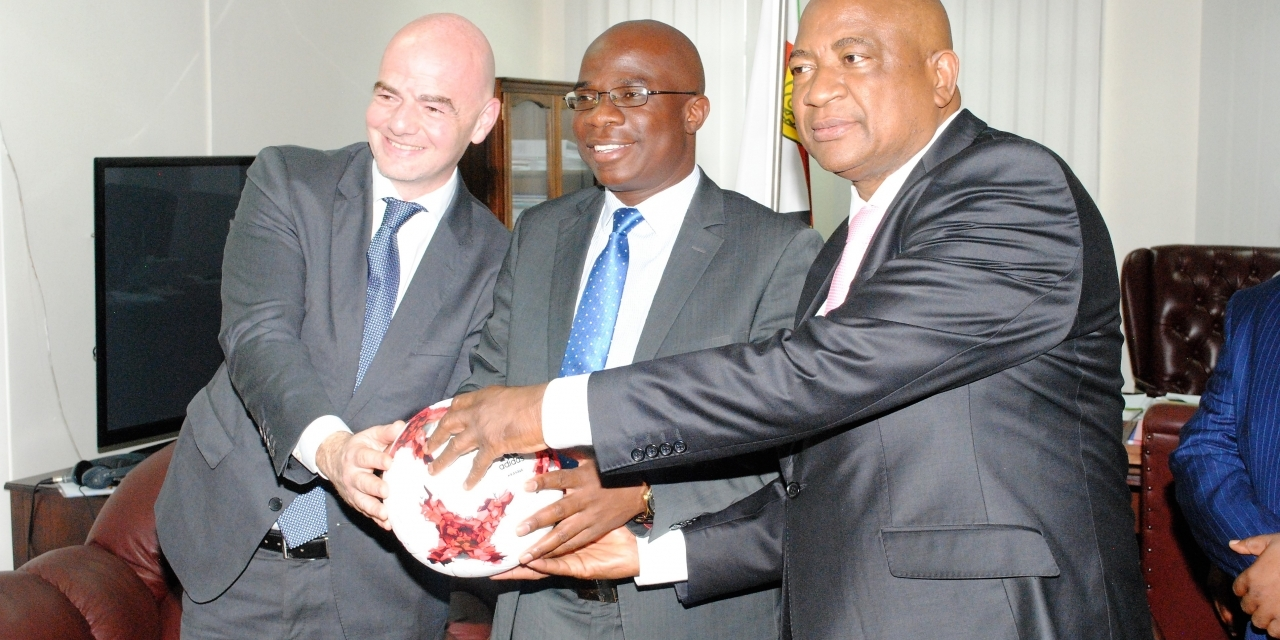 Infantino Backs ZIFA And Government's 'Very Ambitious' Project