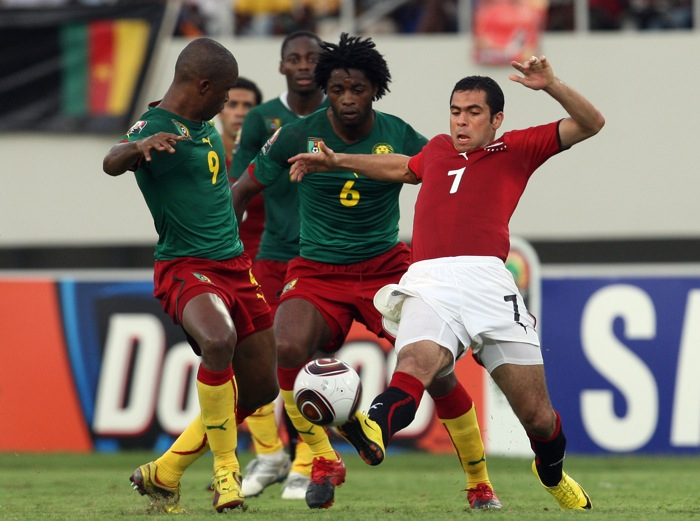 Cameroon now meet Egypt in a repeat of the 2008 Afcon final