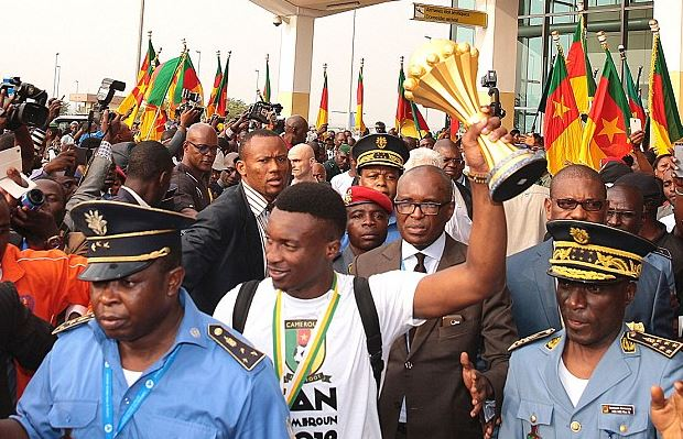 Cameroon arrive home to a hero's welcome after AFCON win