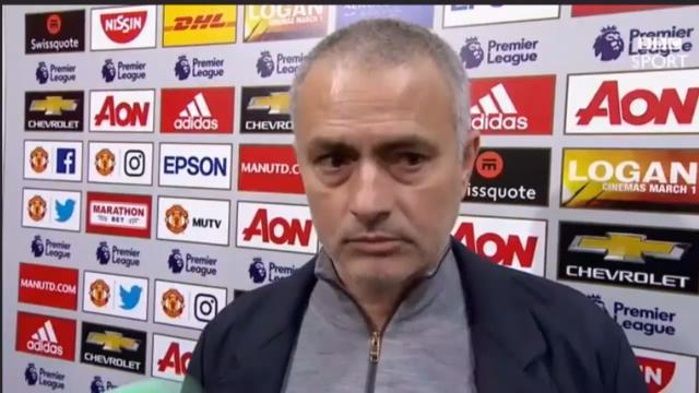 Mourinho Blasts BBC Journalist, Tells Him Not To Have A Microphone In His Hands