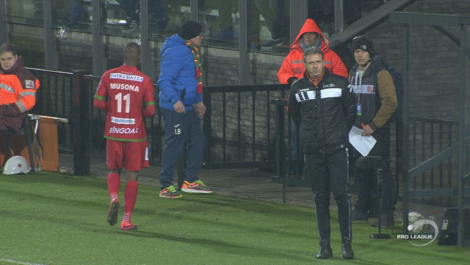 Musona red carded in KV Oostende win