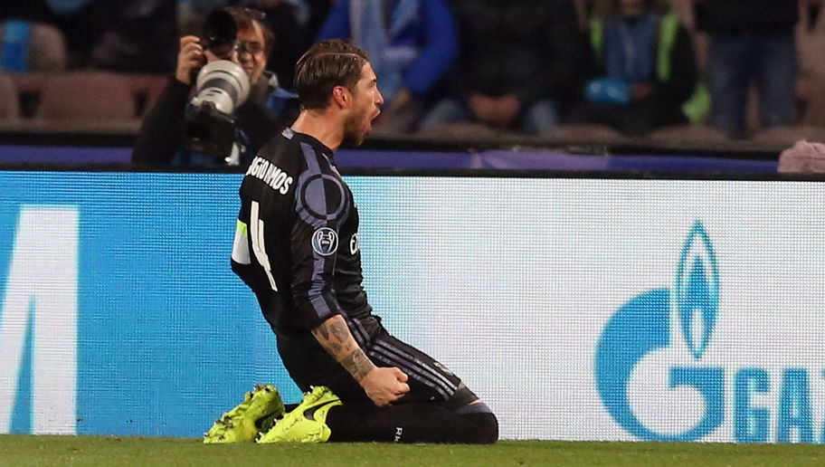 Sergio Ramos in Petulant Dig at 'Fickle' Madrid Fans After Champions League Heroics Against Napoli