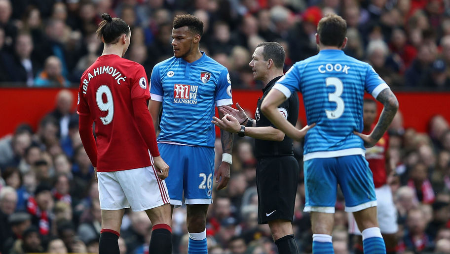 Man Utd Star Ibrahimovic and Cherries Man Mings Set for Lengthy Bans After Old Trafford Clash