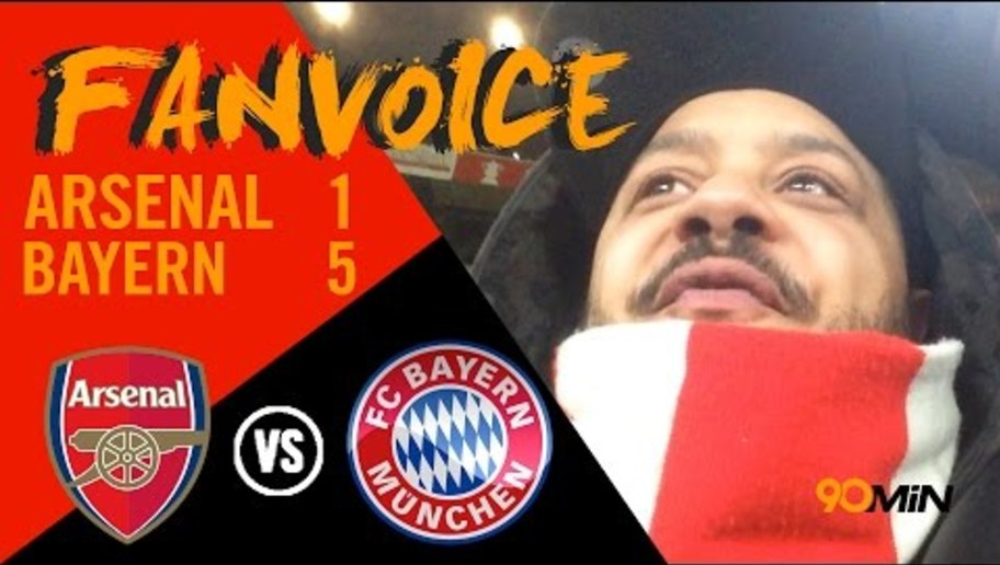 90min FanVoice | Arsenal 1-5 Bayern |  Munich Destroy Gunners Again | Troopz Has Meltdown