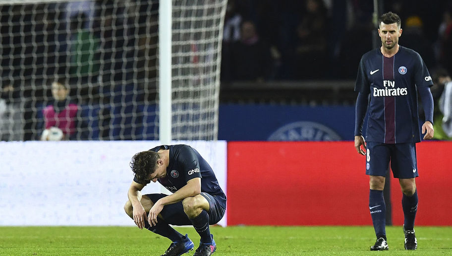 PSG Ace Thiago Motta Rams Car Into Fan as Team Given Violent Welcome in Paris Following Barca Defeat