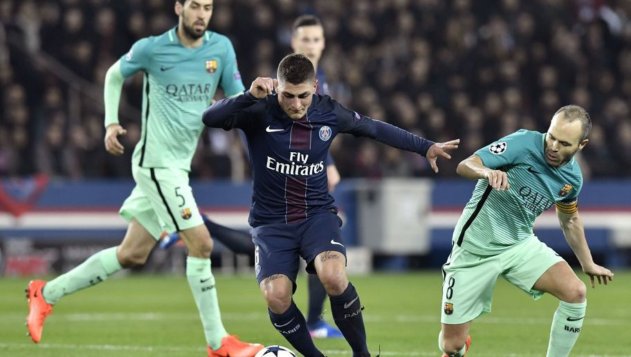PSG Star Marco Verratti Squashes Transfer Rumours Stating: 'I Do Not Dream of Playing for Barca'