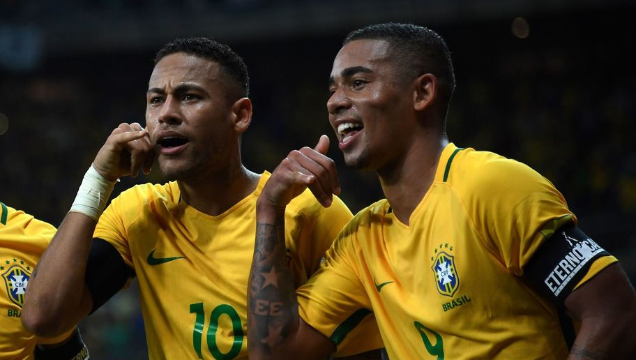 Brazilian World Cup Winner Says Gabriel Jesus Can Help Ease Pressure on Neymar