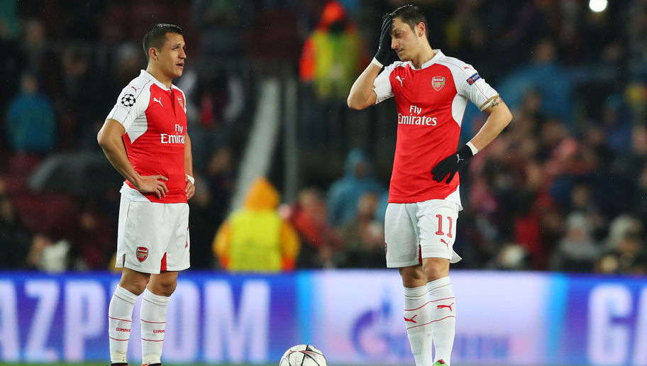 Arsenal Increasingly Concerned Both Alexis Sanchez & Mesut Ozil Could Leave This Summer