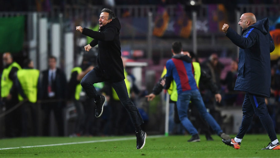 Luis Enrique Claims His Side Never 'Stopped Believing' After Producing Greatest of All Comebacks