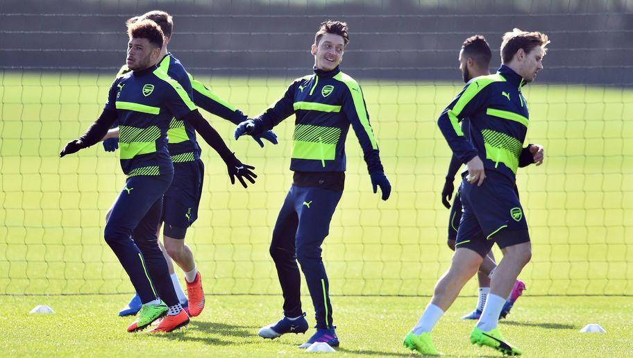 Arsenal's Mesut Ozil Ruled Out of Bayern Munich Clash Despite Training on Monday