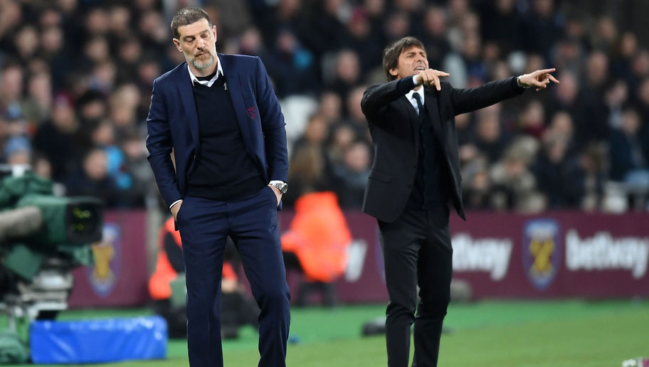 VIDEO: Antonio Conte Washes His Hands After Greeting Bilic Prior to Chelsea's Win Over West Ham