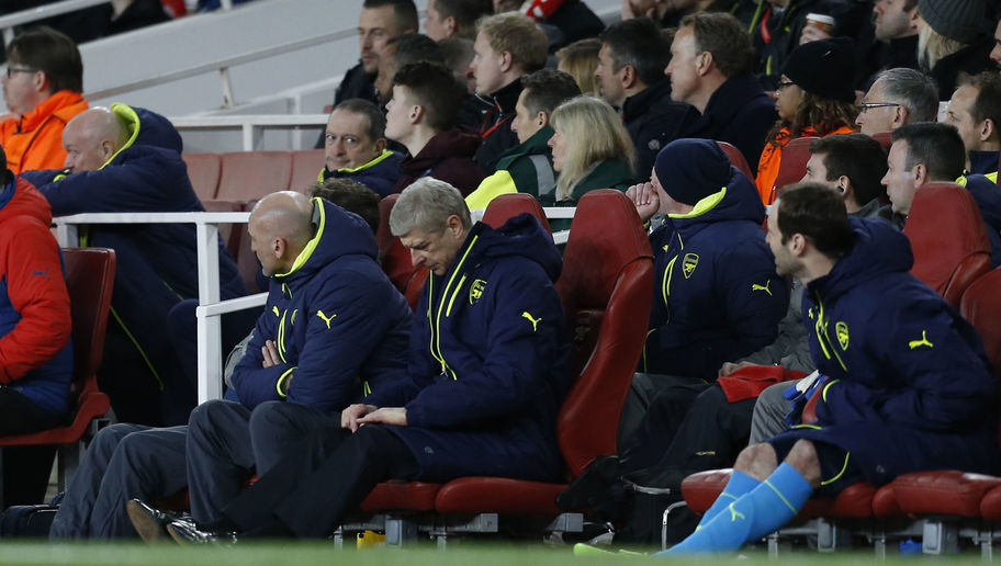 Arsene Wenger Describes the Referee as 'Revolting' as His Side Crash Out of the Champions League