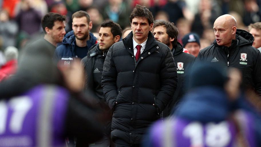 Middlesbrough Manager Aitor Karanka Claims Full Backing From Chairman Despite Poor Form