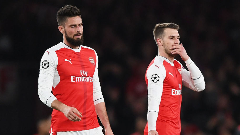 VIDEO: Woeful Aaron Ramsey Effort Sums Up Difference Between Arsenal & Bayern Munich
