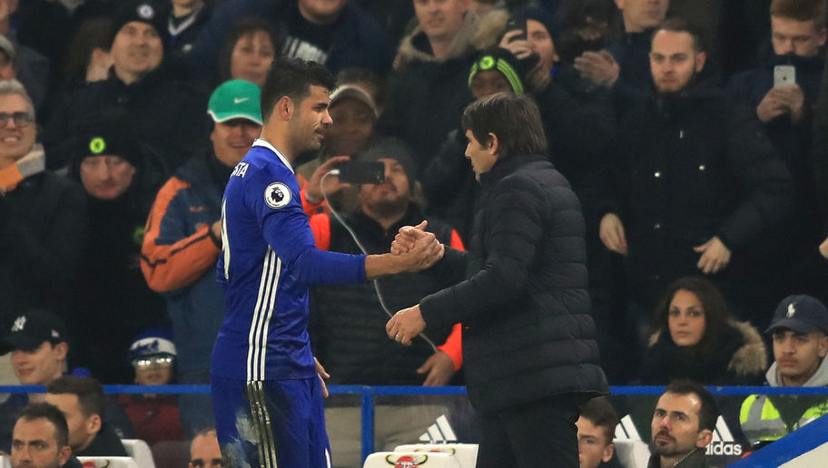 Chelsea Striker Finally Opens Up on Reports of January Fall Out With Manager Antonio Conte