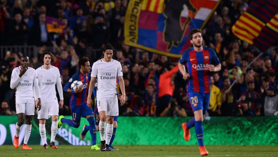 Shocking Graphic Indicates Just How Badly PSG Capitulated in the Closing Stages Against Barca