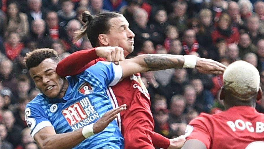 Chaos Ensues at Old Trafford as Ibrahimovic Elbows Tyrone Mings After Brutal Head Stamp