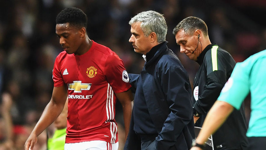 France Boss Praises Jose Mourinho's Management of Anthony Martial at Manchester United