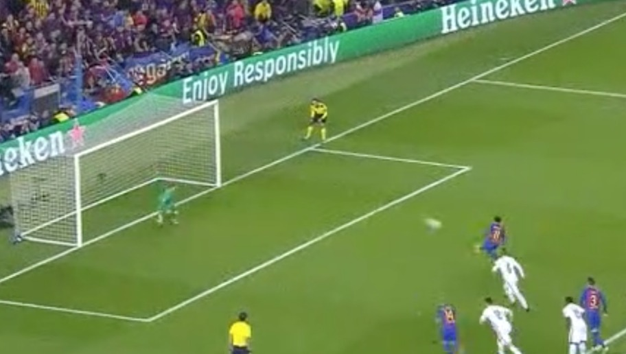 VIDEO: Neymar Slots Home From the Penalty Spot to Leave Barcelona Needing Just One Goal to Progress