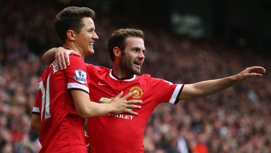Man Utd Stars Ander Herrera and Juan Mata Confuse Fans With Creepy 'Face Swap' Picture