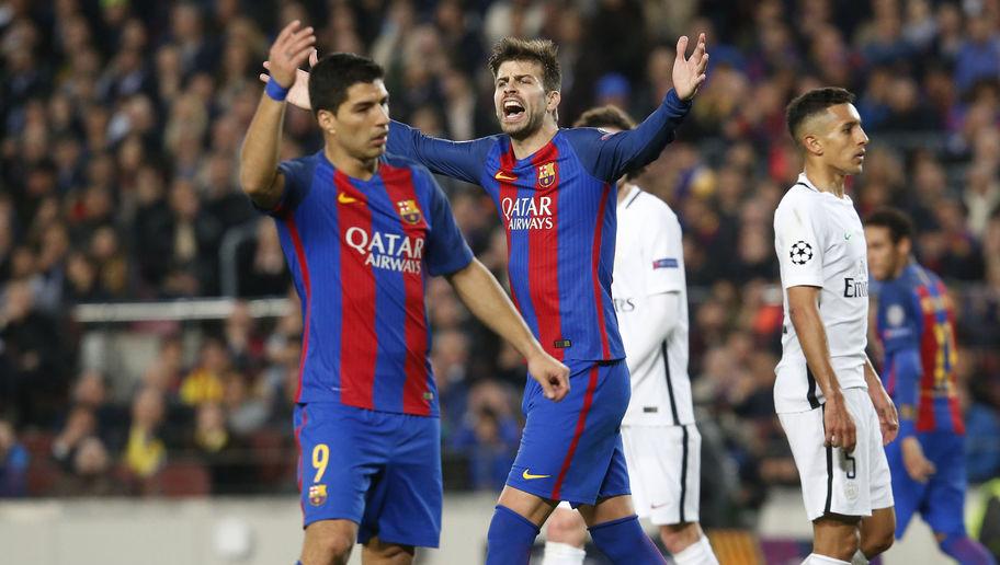 Barcelona Defender Gerard Pique Makes Hilarious Prediction After Stunning PSG Comeback
