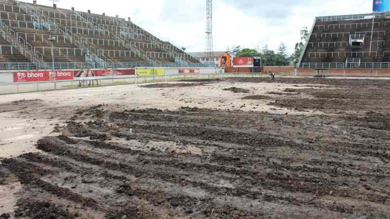 Natural grass for Rufaro Stadium ahead of new season