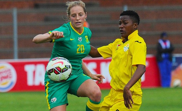 Sibanda excited with Banyana clash