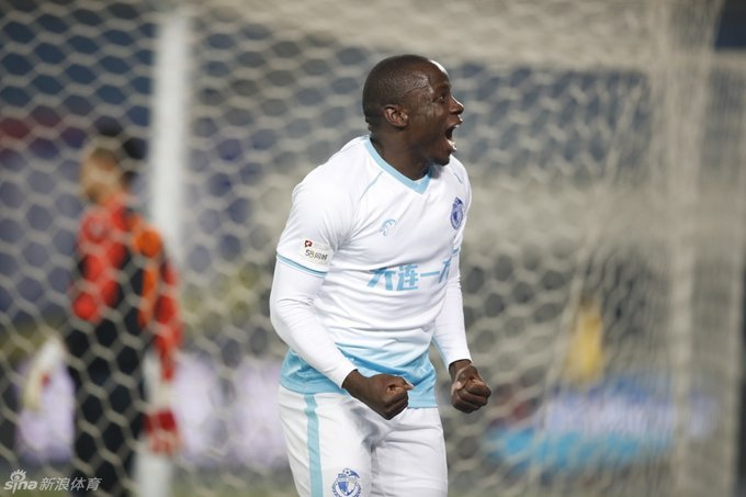 Nyasha Mushekwi amongst the leading top scorers in China League One