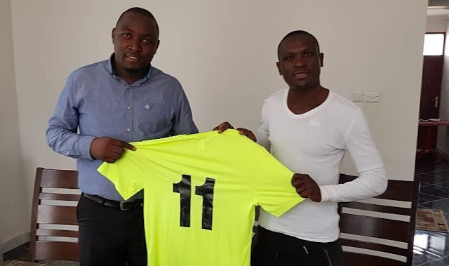 Caps United striker signs for Tanzanian test