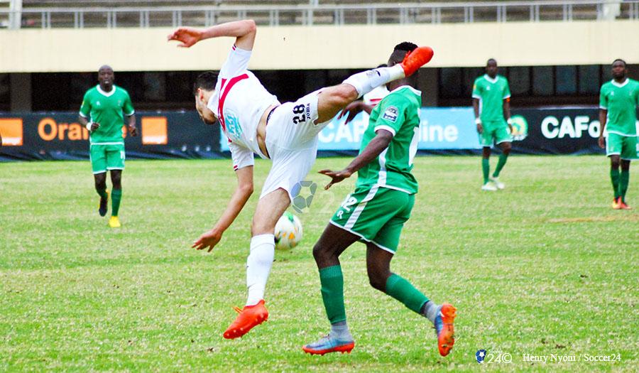 CAPS United vs Zamalek In Pictures