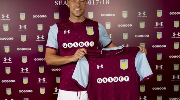 Chelsea legend John Terry joins Aston Villa