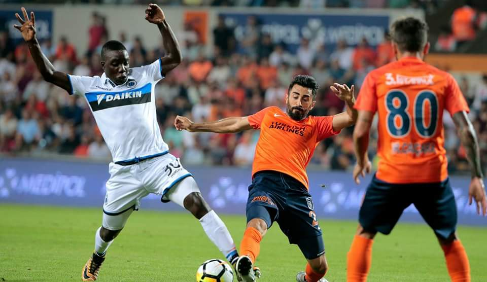 Europa League: Nakamba's Club Brugge held to goalless draw