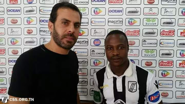 CONFIRMED: Midfielder Chitiyo pens four year deal with SC Sfaxien