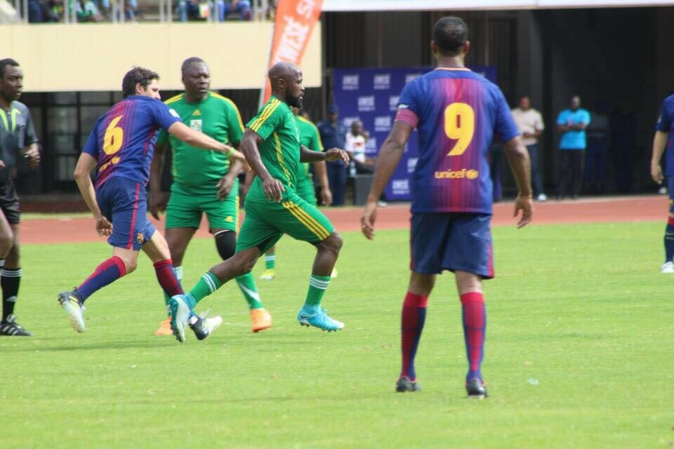 Report: International football legends expected in Zim this week