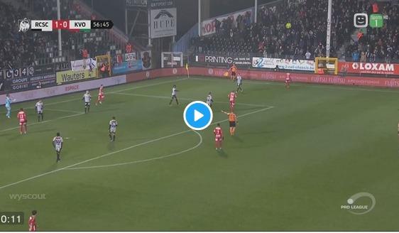 VIDEO: Musona nets equalizer for KV Oostende