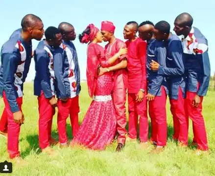 Tendai Ndoro ties the knot