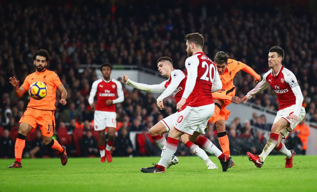 Arsenal, Liverpool share spoils in six-goal thriller