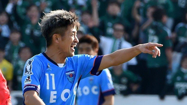 50-year-old striker Kazuyoshi Miura renews contract