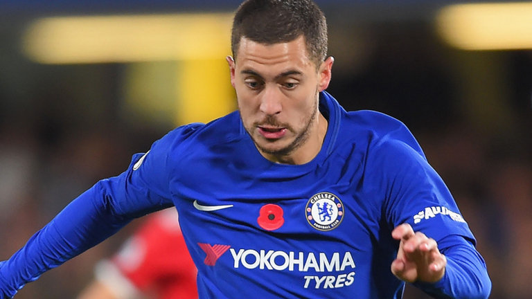 Eden Hazard brace puts Chelsea back in fourth place