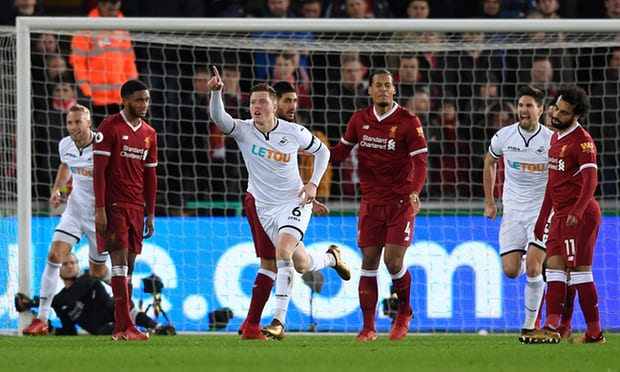 Liverpool's unbeaten run comes to an end