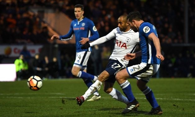 A late goal sees Rochdale earn a replay at Wembley against Spurs
