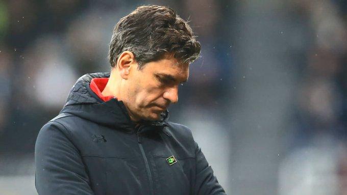 Southampton have sacked their manager Mauricio Pellegrino