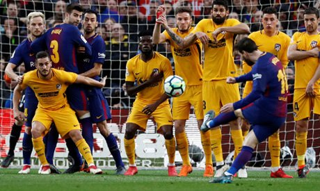 Messi hits 600th career goal in Barca clash with Atletico