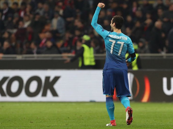 Europa League roundup: Arsenal and Atletico take first leg advantage, Dortmund falter