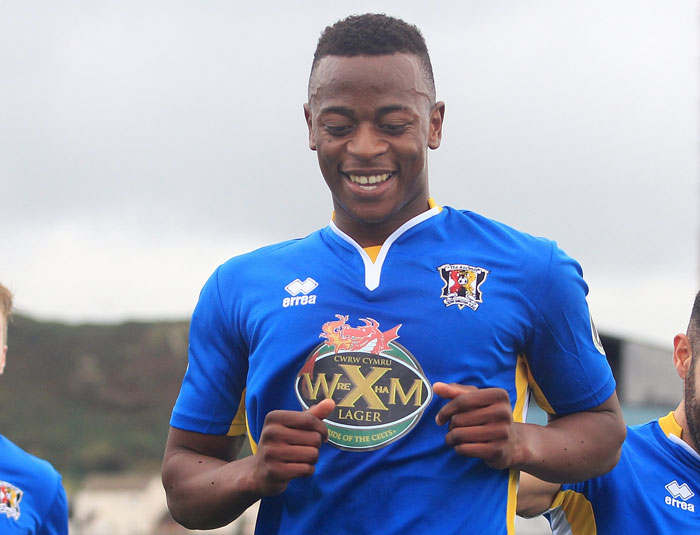 Aleck Mudimu's Cefn Druids clinch Europa League spot