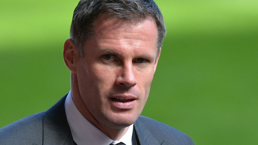 Liverpool legend Jamie Carragher under fire for spitting at fan